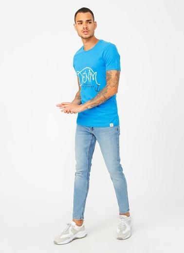 Lee Cooper Tişört Mavi